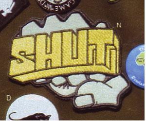 ニューヨークのレジェンドブランドSHUTのワッペン