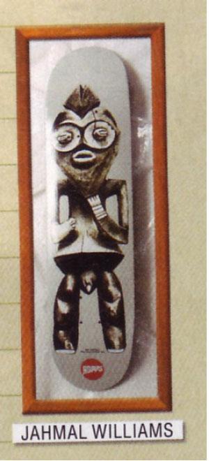 ジャマールの渾身のアート